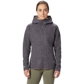 Mountain Hardwear Hatcher Full Zip Hoody Damen purple dusk
